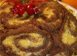 Торт Рождественская бомба
