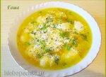 Суп овощной с манными клёцками в мультиварке Brand 502