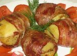 Картофель с грудинкой