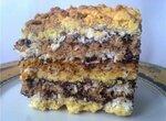 Торт-пляцок маково-кокосовый