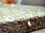 Пирог с финиками и бананово-шоколадным кремом