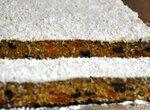 Тыквенно-кокосовый пряный пирог с крем фреш