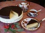 Традиционный рождественский немецкий торт Баумкухенторте (Baumkuchentorte)