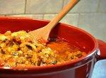 Жаркое из цыпленка в овощном соусе
