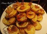 Картофель с салом Кораблики