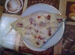 Пицца из картофельного пирога