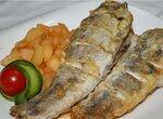 Белая рыба под фруктовым соусом