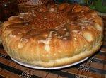 Пирог постный с картофельно гречневой начинкой