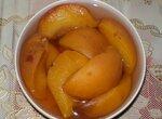 Персики в сиропе в хлебопечке Panasonic SD-2501