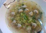 Суп с фрикадельками  в мультиварке Panasonic