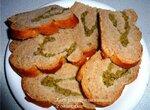 Хлеб ржано-пшеничный с оливками (замес и расстойка в ХП BRAND, выпечка в духовке)