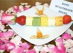 Фруктовый десерт для любимой
