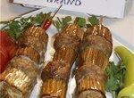 Шашлык-кебаб с баклажанами.(  для нас влюблённых )