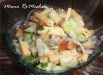 Салат из сельди и сыра