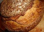 Пшеничный хлеб на ржаном квасном сусле и спелом тесте