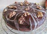 Постный шоколадный пирог с перчинкой (мультиварка Aurora)