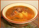 Суп гороховый с мясными копчушками (Скороварка Brand 6050)