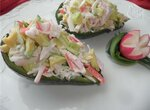 Салат с авокадо Ты да я, да мы с тобой…