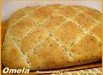 Плоский хлеб с семенами калонджи (духовка)