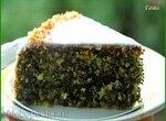 Торт маково-кокосовый