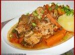 Рагу мясное с овощами (скороварка Brand 6050)