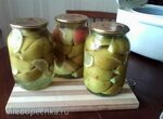 Грушевый компот с лимоном