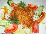 Котлеты куриные с болгарским перцем и сыром Пармезан (скороварка Brand 6050)