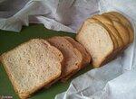 Хлеб Весеннее настроение - цельнозерновой на французской закваске