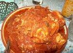 Закусочная маринованная рыба в томатном соусе