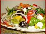 Салатос греческий по Гомеру (Choriatiki Salata)