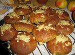 Лепёшки ржано-пшеничные с беконом