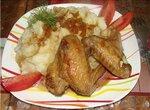 Крылышки по-китайски в кисло-сладком соусе