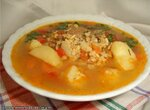 Суп с белым и желтым машем