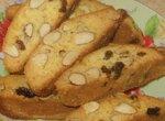 Миндальные бисквитные сухарики (Maida Heatter)