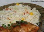 Рис с мексиканской смесью в скороварке Brand 6050