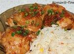 Куриные бедрышки в томатно-чесночном маринаде (мультиварка Brand 37501)