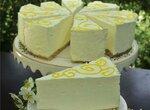 Шифоновый  лимонный торт-суфле из кинофильма Полночь в Париже