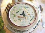 Сырный кукурузный суп с мясом кролика из кинофильма Огниво