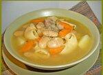 Фасолевый суп с пастой