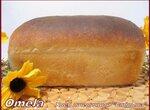 Хлеб пшеничный Сябрына в духовке