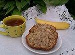 Кекс  бананово-ореховый