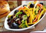 Салат «Фасоль и манго»