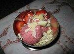 Мороженое земляничное