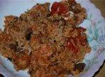 Рис с шампиньонами и куриным филе(Cuckoo 1054)