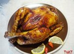 Курица по-мароккански в медовой глазури