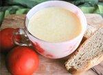 Сливочно-сырный суп с цукини
