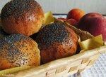 Персиковые булочки