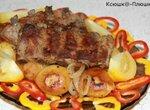 Дуэт: ребрышки + картофель, запеченный на режиме Рис (мультиварка Brand 37501)