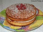 Торт королевы Виктории или классический викторианский бисквит