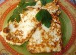 Сыр адыгейский жареный Легкий ужин по-быстрому